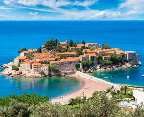 Montenegro in Europa door Younique Incentive Travel