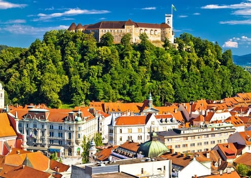 Ljubljana in Slovenie Europa door Younique Incentive Travel