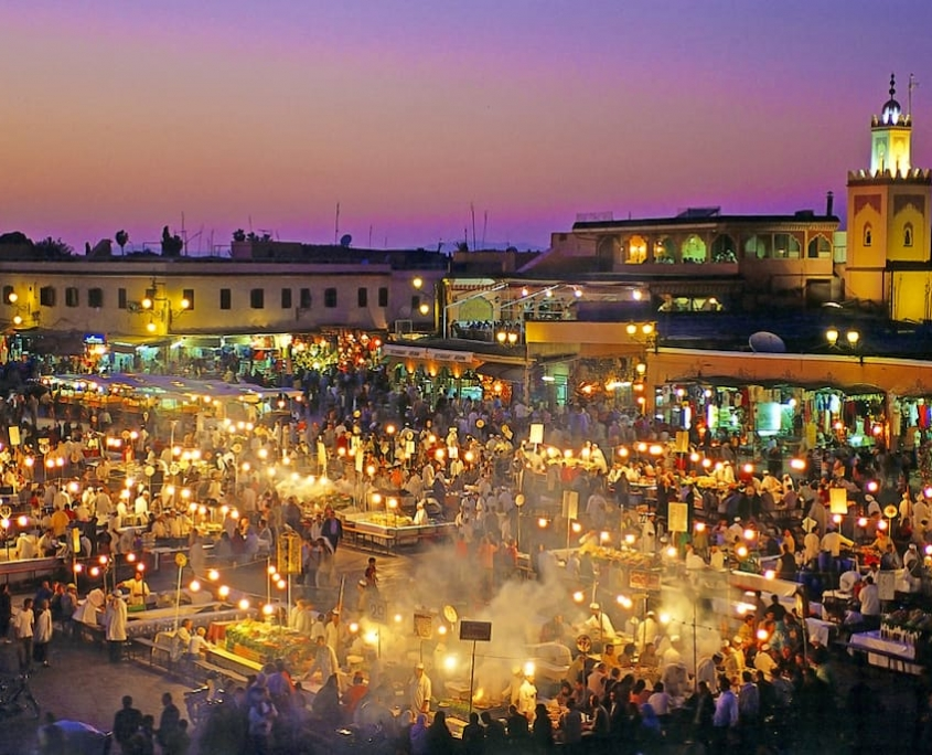 Marrakech in Marokko Afrika door Younique Incentive Travel