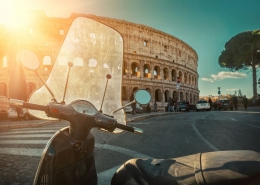 Scooter rally Rome incentivereis activiteit